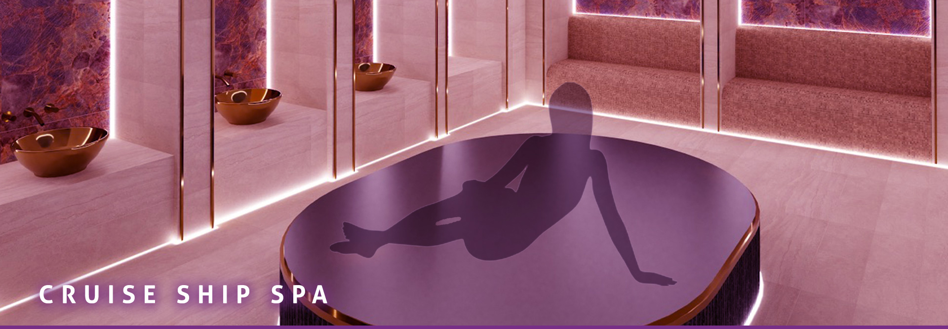 ABOUT THE CRUISE SHIP SPA Banner 05
